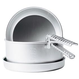 Primus Mimer - Set de cuisson aluminium - blanc/gris